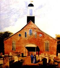 historic photo of holy trinity church gosport